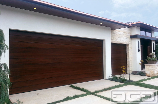 A Modern Garage Door Design In Irvine Terrace Custom
