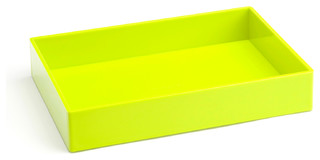 Accessory Tray Lime Green Modern Desk Accessories