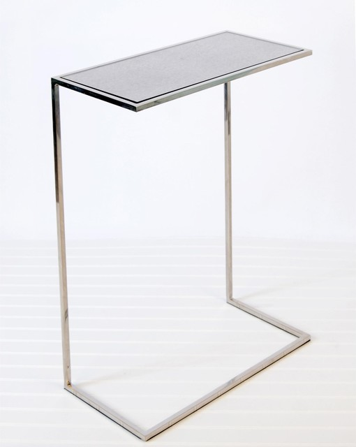 Worlds Away Cigar Table - Nickel Plate traditional-side-tables-and-end ...