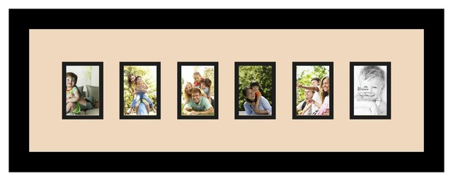 Arttoframes collage photo frame with 6 openings for Living room 5x3
