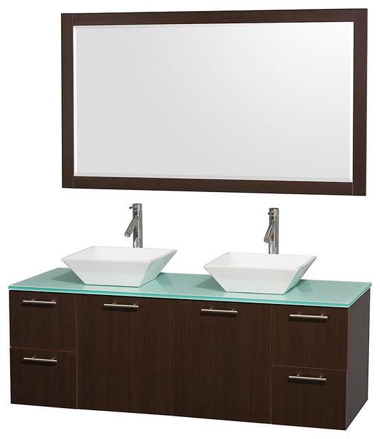 Porcelain Sinks Bathroom Vanities : ... Bone Porcelain Sinks contemporary-bathroom-vanities-and-sink-consoles