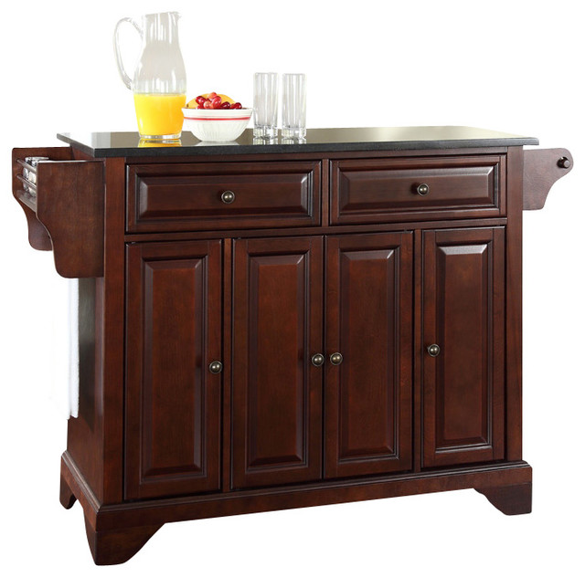 lafayette kitchen island w bracket feet contemporary