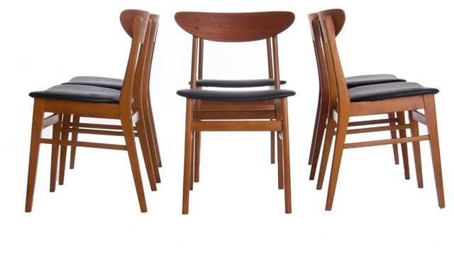 Vintage Danish Modern Dining Chairs