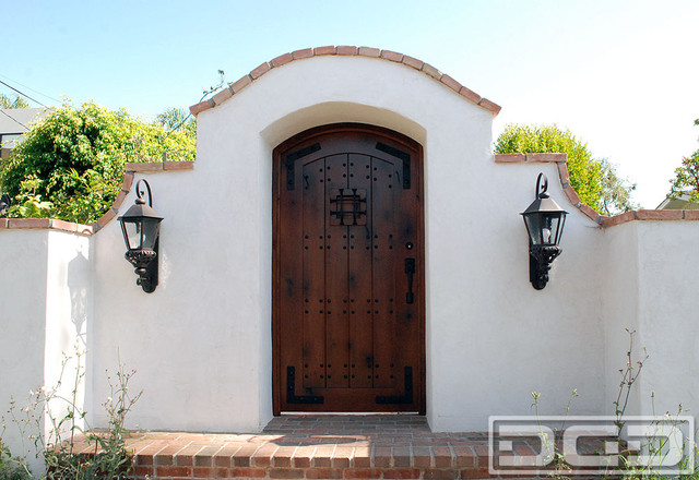 A laguna beach ca spanish colonial gate handcrafted in for Colonial windows and doors