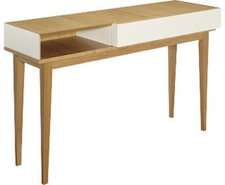 Benjy console contemporary console tables by habitat officiel - Table console extensible habitat ...