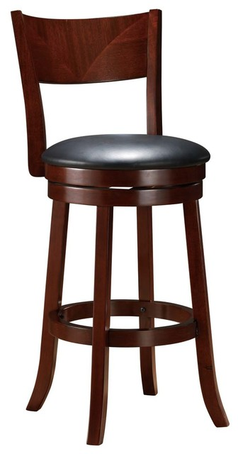 24 Quot Swivel Counter Height Stool Transitional Bar