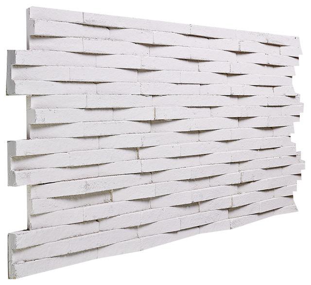 Woven quartz wall panel stone white traditional wall panels by buy faux stone - Woven wood wall panels ...