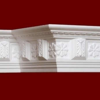 26 dct carved styrofoam crown molding 5 in wide 6 5 ft long wallpaper by decorative - Crown molding wallpaper ...