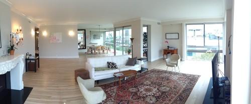 Help w furniture layout in open plan living room with two - Open plan living room furniture layouts ...