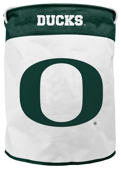University Of Oregon Canvas Laundry Bag Contemporary