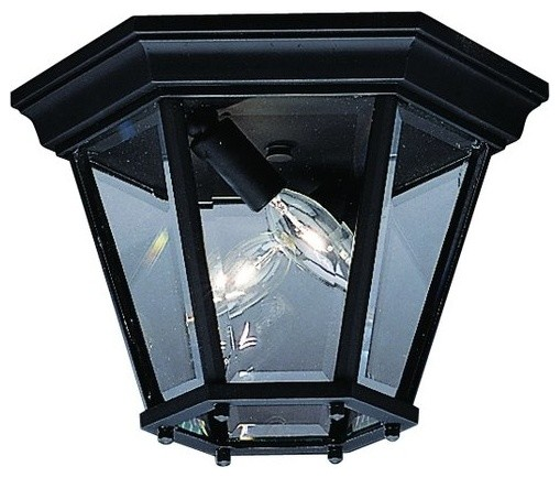 kichler 9850bk 2 light outdoor ceiling fixture from the