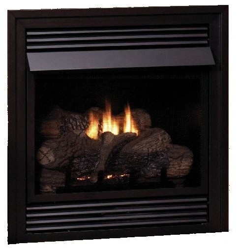 Vent Free 24 Liquid Propane Thermostat Control Fireplace Modern Indoor Fireplaces By Shop