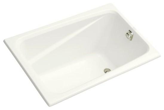 kohler k 1490 x 0 greek 48 quot x 32 quot drop in bath tub