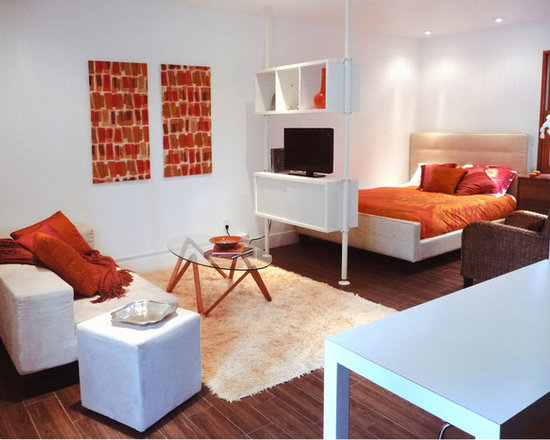decorating a studio apartment home design ideas pictures