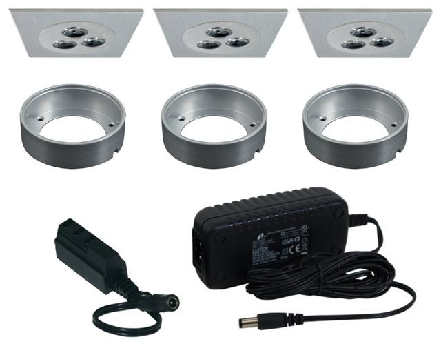 Jesco KIT-PK712-A Under Cabinet Light Kit - Contemporary - Undercabinet Lighting - by Lighting Front