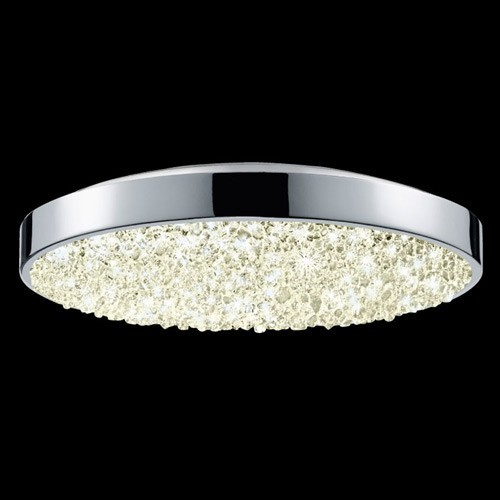 Dazzle 12 Inch Round LED Flush Mount Modern