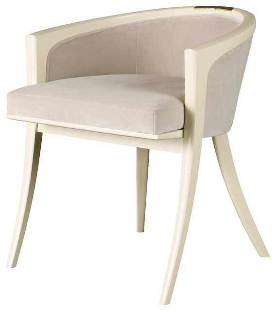 Diana vanity chair baker furniture modern armchairs and accent chairs by baker furniture - Bedroom vanity chair with back ...