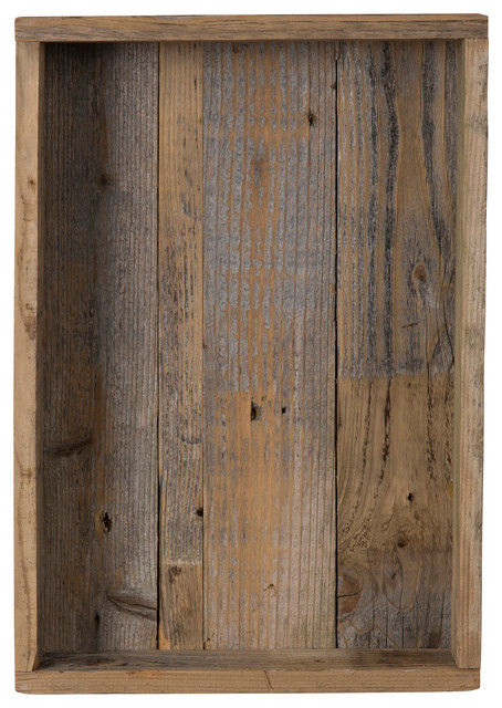 Reclaimed wood shadow box rustic picture frames by for 11x14 table top frame