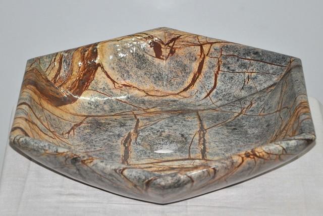 Rainforest brown marble sink bath accessories for Brown marble bathroom accessories