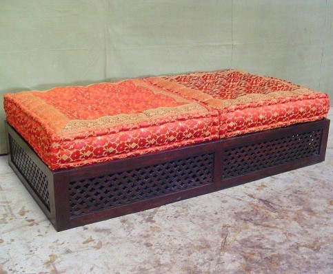 Double Moroccan Ottoman Asian Footstools And Ottomans