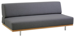 Fifties canap lit 3 places en tissu contemporain canap lit convertible et banquette lit Canape convertible en lit superpose