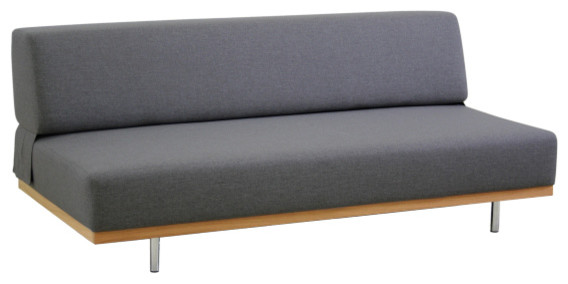 Fifties canap lit 3 places en tissu contemporain canap lit convertible - Banquette lit modulable ...