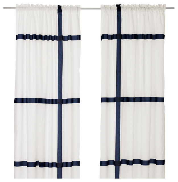 Blue And White Curtains. Decorating With Blue Carpet Bedroom ...