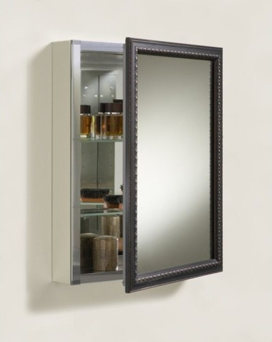 KOHLER K-2967-BR1 Aluminum Cabinet with Oil-Rubbed Bronze Framed Mirror Door - Modern - Medicine ...