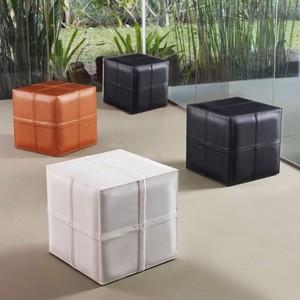 modloft dacre cube pouf modern floor pillows and poufs