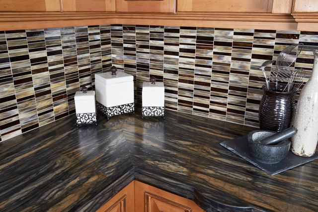 Sandalus Satin Granite Kitchen Los Angeles By