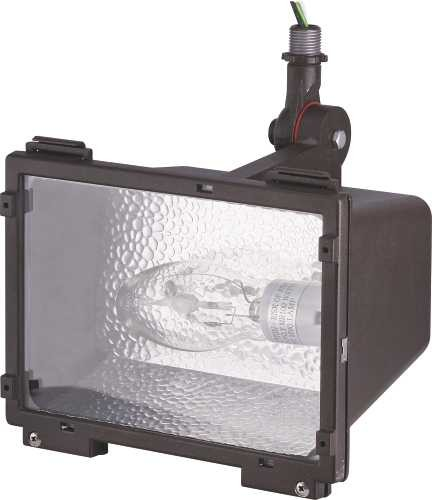 Floodlight 100 Watt Metal Halide with Knuck - Contemporary - Outdoor Flood And Spot Lights - by ...