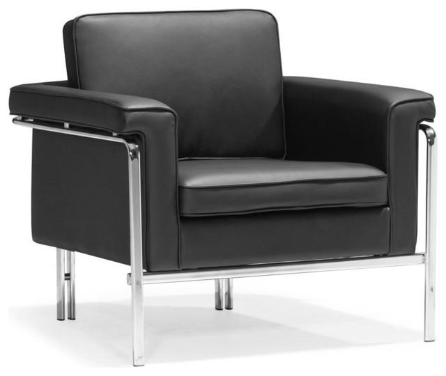 Singular Armchair Black Modern Armchairs And Accent