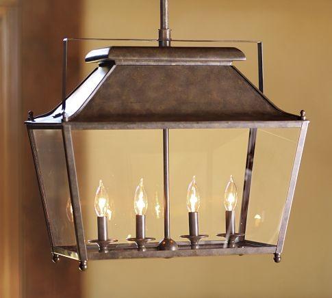 Stanyan Lantern Transitional Pendant Lighting By