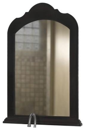 Portrait 36 Quot X 24 Quot Vanity Mirror In Hand Rubbed Black
