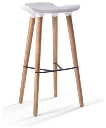 quinze and milan pilot bar stool modern bar stools
