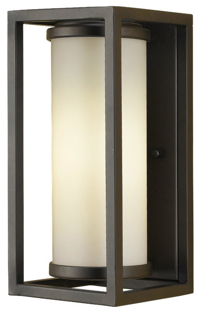 Modern Outdoor Wall Sconces : Industrial Moderne Wall Lantern - Modern - Outdoor Wall Lights And Sconces