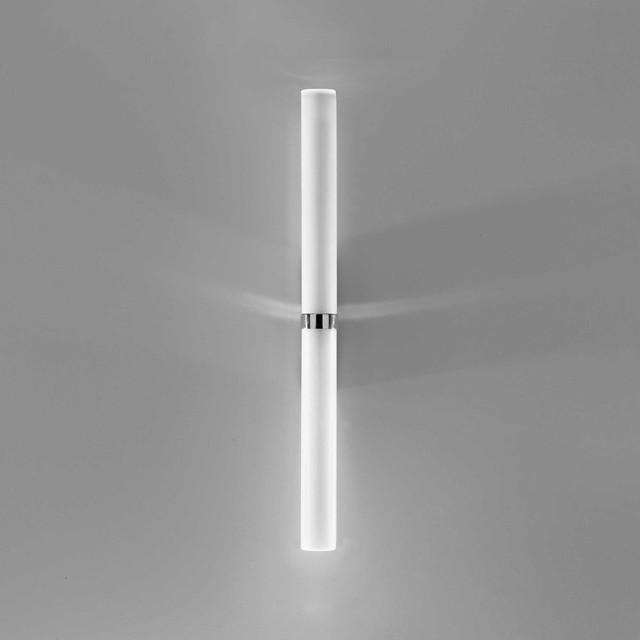 Vanity Lights Stick On : Stick 65 Double CFL Bath Bar - Modern - Bathroom Vanity Lighting - by Lightology
