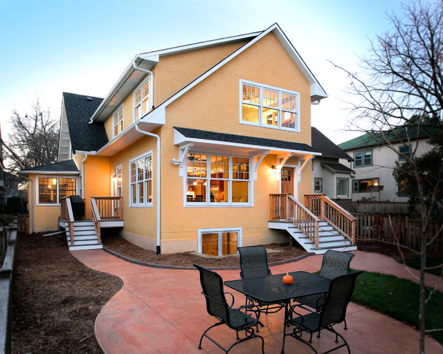 Twin Cities Addition Kitchen Family Room And Master Bedroom Suite Craftsman Exterior