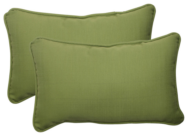 Forsyth Rectangle Throw Pillow Contemporary Outdoor