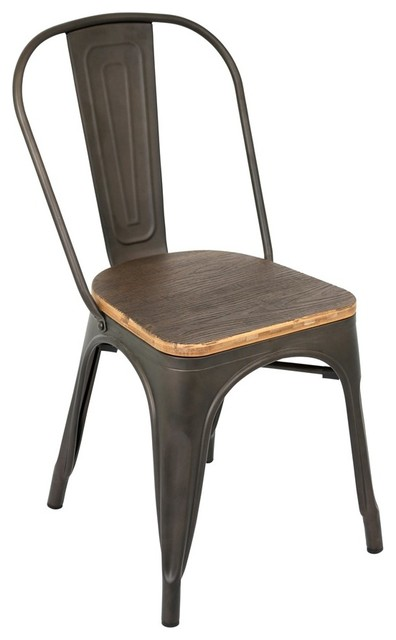 Lumisource Dining Chair Industrial Dining Chairs By