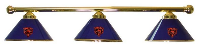 chicago bears nfl 3 modern game room and bar decor