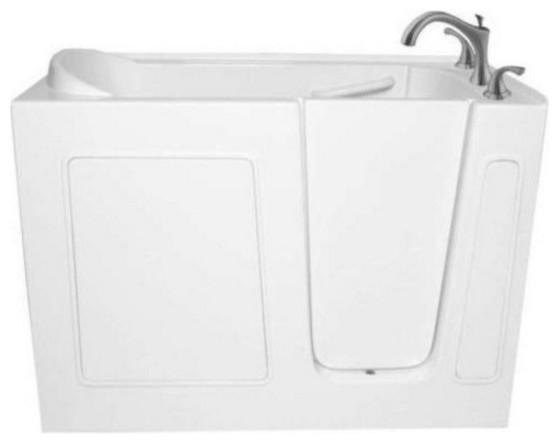 52 X 30 Ariel Walk In Ada Compliant Bathtub Contemporary Bath