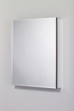 "Robern M Series 4 Inch Deep, Mirrored Cabinet 23-1/4"""