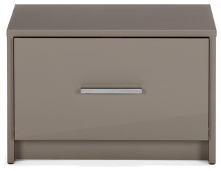 Modern nightstands and bedside - Chevet couleur taupe ...