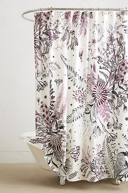 Cornelis Shower Curtain Contemporary Shower Curtains By Anthropologie