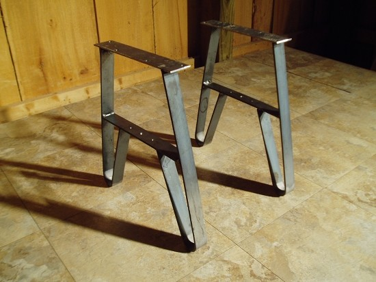 Steel Table Legs Modern Coffee Tables Other By Ohiowoodlands Llc