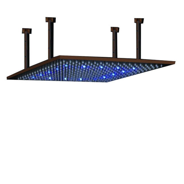 Vanilla 24 Oil Rubbed Bronze Square Color Changing LED