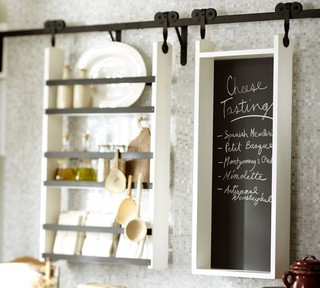 Markson Rolling Modular Storage - Contemporary - Display And Wall Shelves - by Pottery Barn
