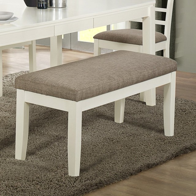 ... Monty Zane Modern Dining Set Fabric Dining Bench. Mefunnysideup.co