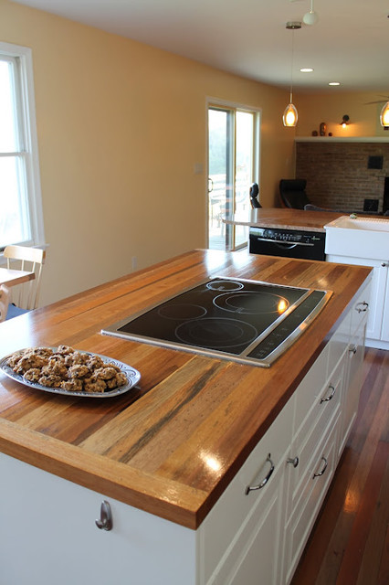Reclaimed wood tables counters kitchen countertops for Reclaimed wood portland oregon